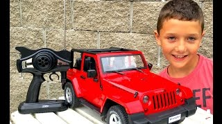 RC JEEP WRANGLER Rubicon