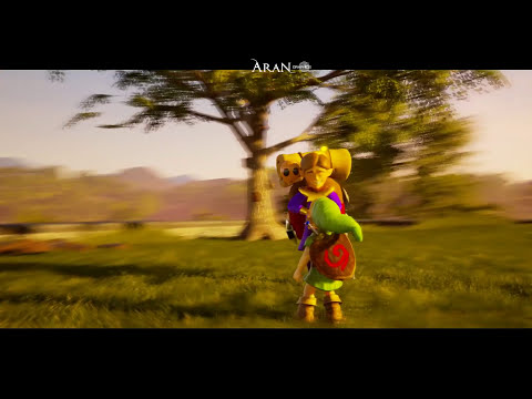 Zelda Ocarina of Time Unreal Engine 4 - Hyrule Field [2.0 UPDATE]