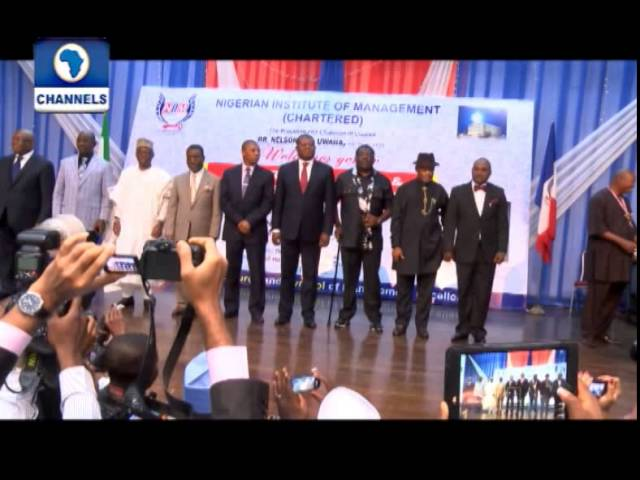 Metrofile: Aniekan Umana,Others Become Distinguished Fellows Of The Chartered Inst  Of Mgt