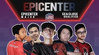 [DOTA 2] Fnatic VS MYSG+AU (BO5) - EPICENTER Major SEA Close Qualifier