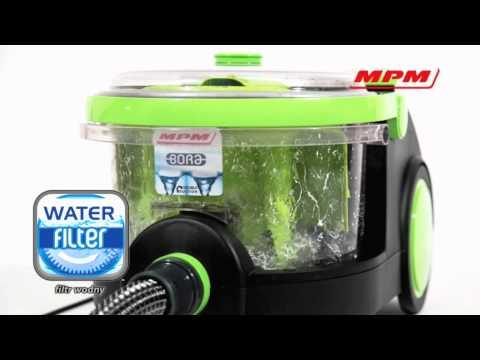 BORA - najnowszy odkurzacz z filtrem wodnym!