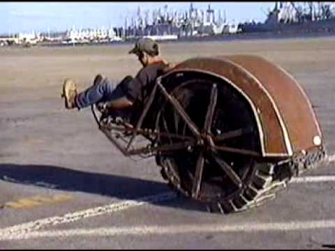 RIOT Wheel (Re-Invention Of The) wheel.© Music Videos