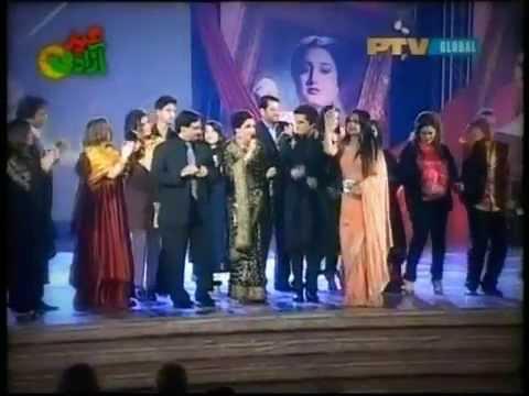 Naheed Akhtar - Kaleyan Na Jana Sadey Naal Naal Chalo Ji - LIVE...