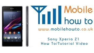 Sony Xperia Z1 fabrika ayarlarına döndürme