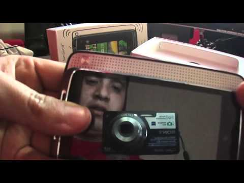 Unboxing HTC 7 Surround con Windows Phone 7
