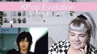 KPOP Evolution *Male Edition* 1997 - 2017 | Reaction