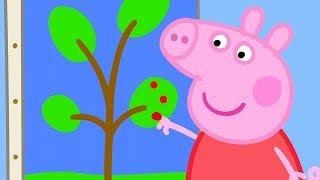 Peppa Pig Nederlands Compilatie Nieuwe Afleveringen ⭐ Verven ⭐ Tekenfilm   Peppa de Big