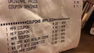 CVS more awesome freebies saved $183.72 Rebates $4.00