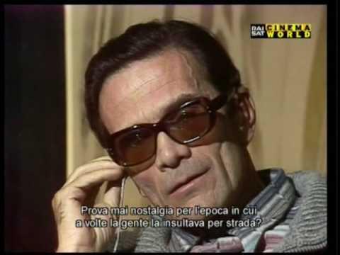 L'ultima intervista a Pier Paolo Pasolini, 31 Ottobre 1975.