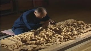 Incredible Edo wood Sculpture Techniques - Craftsmen do not use any kind of Knife.