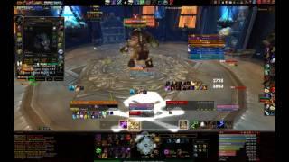 World of Warcraft patch 3.3.0 Icecrown Citadel 10man: The Plagueworks: first boss- Festergut