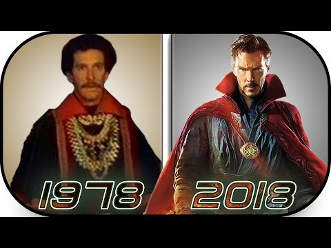 EVOLUTION of Doctor Strange in Movies, TV, Cartoons (1978-2018) Marvel DR Stephen Strange History