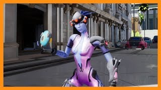 """Baptiste's intro """"Discus"""", but performed by every Character of Overwatch"""