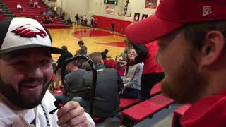 Post WHS football Season Interview Of Riley Leath by Billy Graves