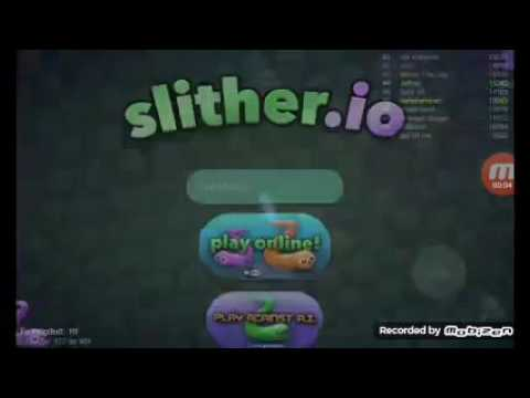 let's play slither.io youtube