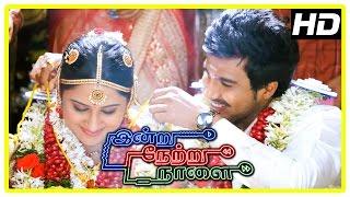 Indru Netru Naalai Movie Climax | Vishnu and Mia get married | End Credits