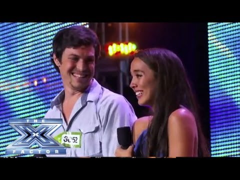"Alex & Sierra - Sultry Cover of Britney Spears ""Toxic"" - THE X FACTOR USA 2013"