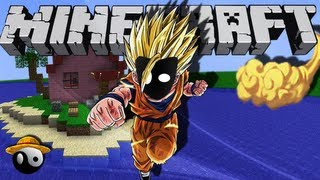 ► Dragon Block C ☯ Dragon Ball Z no Minecraft 1.4.7 [Com Lags]