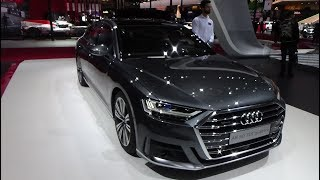 2019 Audi A8 50 TDI quattro . Exterior and Interior - Paris Auto Show 2018