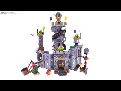 LEGO Angry Birds - King Pig's Castle review! 75826