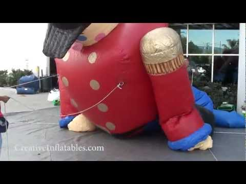 25  Inflatable Toy Soldier Set Up