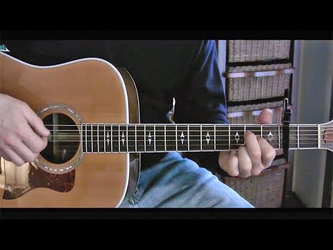 James Taylor guitar lesson (Never Die Young) -- by ThinkingDog