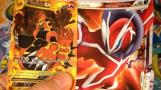 10 Extraordinaires Cartes Pokémon Ultra Rare ! PRIMO GROUDON EX FULL ART & YVELTAL SHINEY LEGENDE #4