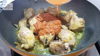 Zaffrani Chicken Korma || Shadiyon wala ll Deg wala korma || Cooking with Benazir