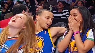Stephen Curry Picking Up Girls (Best NBA Pick Up Lines Ever)
