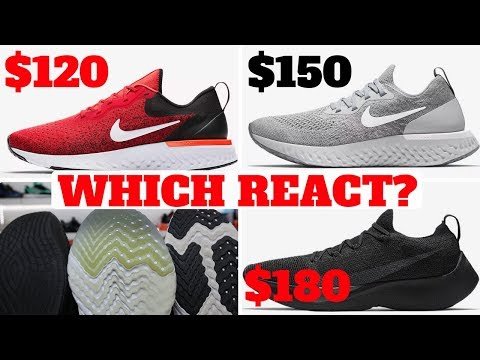 Music Which NIKE REACT Should You Buy? Odyssey vs Epic vs Vapor Street  Comparison! MP3