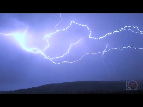 Uk Lightning & Thunder Storm. July 2014 video