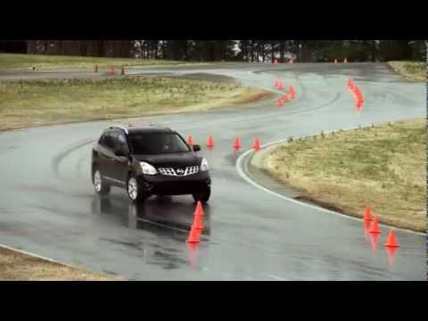 2011 Тест управляемости Subaru Forester