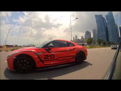 GT-R Owners Club Singapore ShanGhai Tang'R Convoy