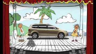 SEAT Alhambra Sponorship Ident on The Disney Channel