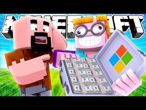 Если бы Майкрософт купил Майнкрафт | Майнкрафт машинима