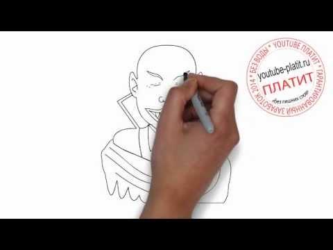 Видео как нарисовать девушку-вампира поэтапно
