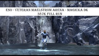 how to get to maelstrom arena eso