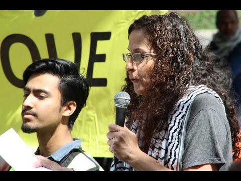 [2016 Toronto Al-Quds Rally] Sister Nadia Shoufani – Palestine Solidarity Movement
