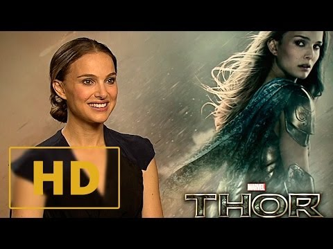 Thor: The Dark World - Natalie Portman Interview HD (2013)