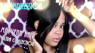 1st Impression Mayvenn ULTRA Hair ✿ Luxury Virgin Hair Bundles ✿ KimmyBoutiki.Mayvenn.Com