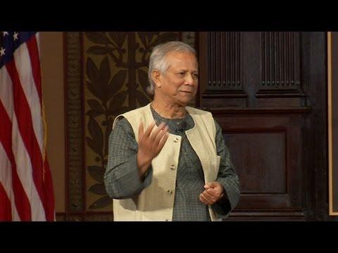 Nobel Peace Prize-winner Muhammad Yunus