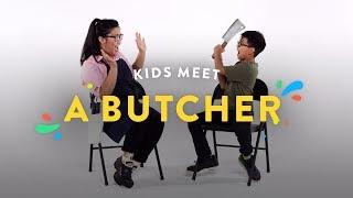 Kids Meet A Butcher   Kids Meet   HiHo Kids