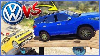 NOVO POLO vs HILUX - Test Drive EXTREME - GTA V