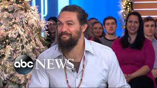 'Aquaman' star Jason Momoa shares secrets from behind the scenes