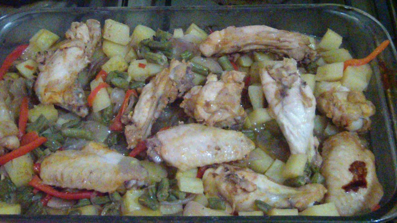 Comidas faciles pollo con papas diferente como no se - Comidas con pollo faciles ...