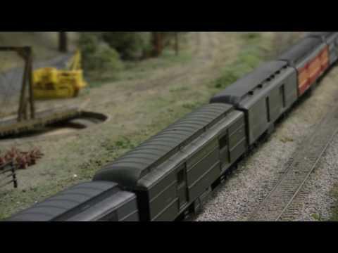 South Bay Historical Railroad Society HO Scale Layout at Santa Clara Caltrain Depot