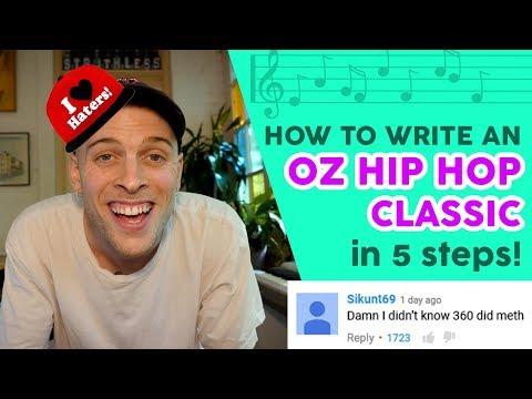 How to write an OZ HIP HOP CLASSIC