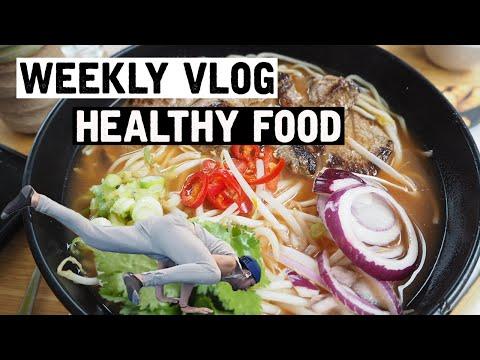 Healthy food shopping (weekly Vlog)