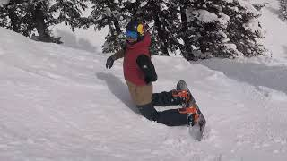 Trying to Keep up with Travis Rice at Jackson Hole after his Corbet's Run