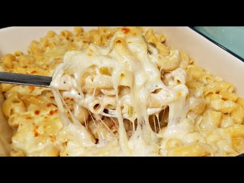 Green Chile Macaroni and Cheese | Cheese White Sauce Macaroni | Cheese Sauce Recipe